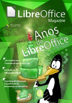 Libre Office comemora 6 anos